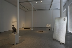 johannes wald 'belgian artist' - installation view by johannes wald