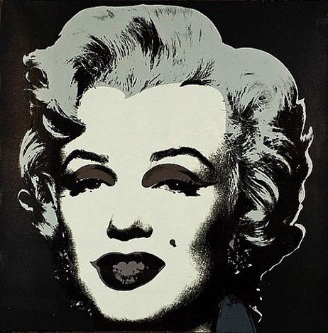 marilyn 24 by andy warhol