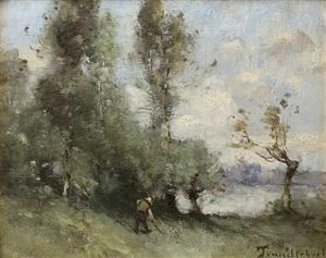 country scene by paul désiré trouillebert