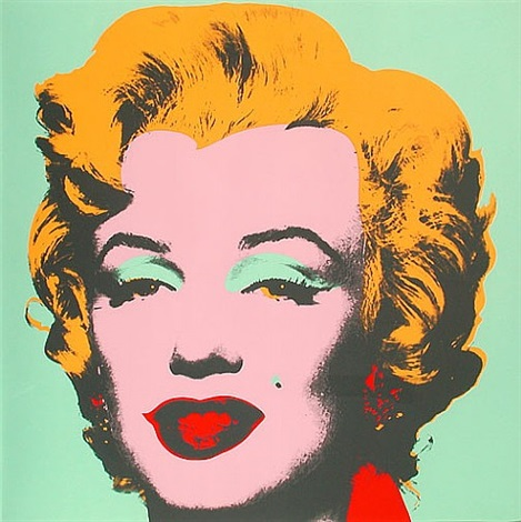 marilyn 23 by andy warhol