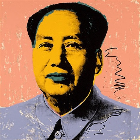 mao 92 by andy warhol
