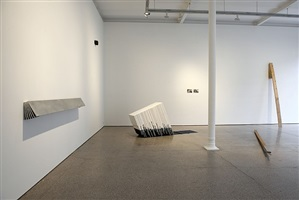 valérie krause 'so weit so lange' - installation view by valerie krause