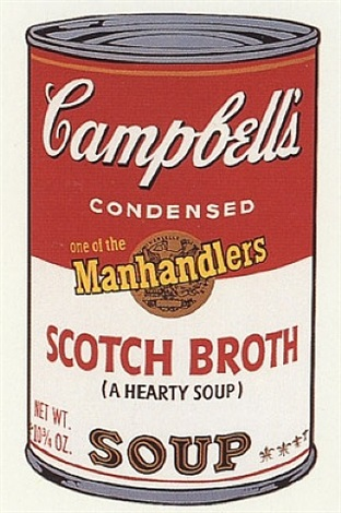 campbell's scotch broth soup by andy warhol