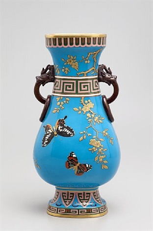 japonist vase by christopher dresser