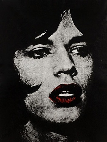mick jagger by russell young