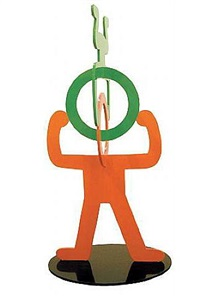 untitled (head-stand) by keith haring