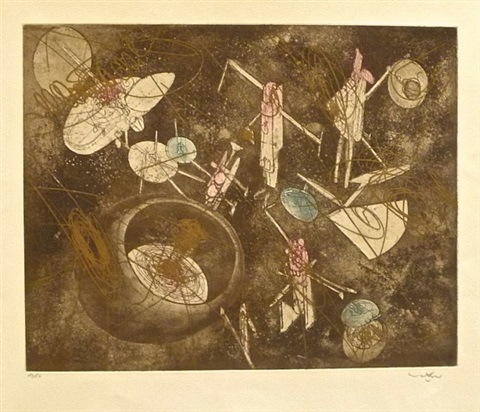 serie or - la mer du temps by roberto matta