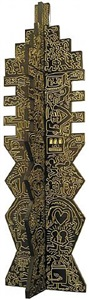untitled (totem) by keith haring