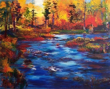 may artists of the month paintings of oregon waters by jean schwalbe