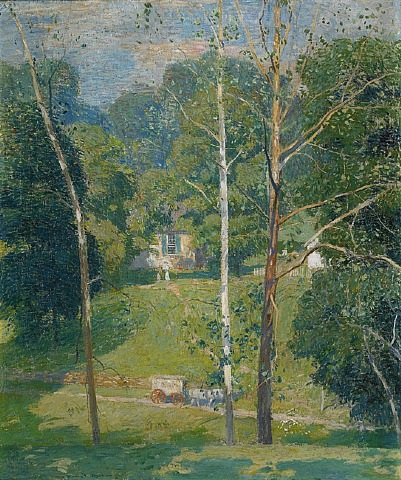 the mary maxwell house by daniel garber
