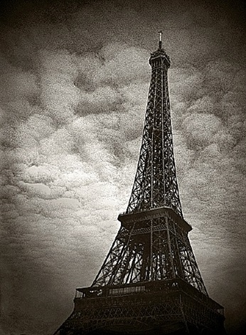 eiffel tower by robb johnson
