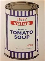 soupcan by banksy