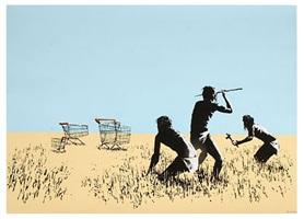 bethlehem trolleys by banksy