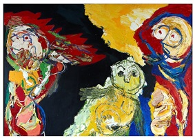 the family by karel appel
