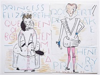 untitled by rose wylie
