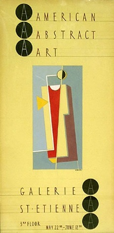 american abstract art exhibition 1940 by john von wicht