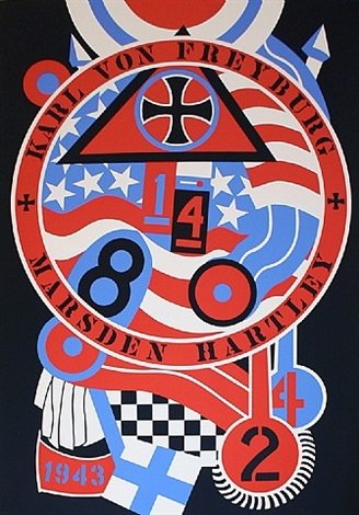 the hartley elegies kvf ii by robert indiana