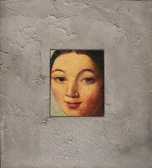 portrait in stone, after ingres by david bierk