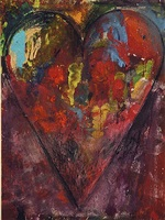 cobalt teal by jim dine