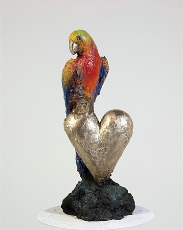 smaller parrot at home by jim dine