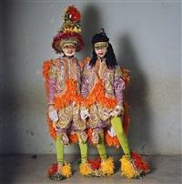 fancy dress and rasta, nobles masquerade group, winneba, ghana by phyllis galembo