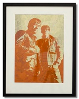 black keys by shepard fairey