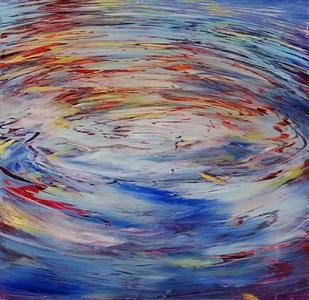 water circles by david allen dunlop
