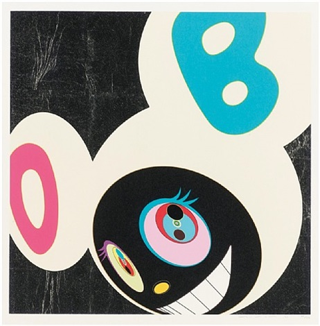 and then white and black by takashi murakami