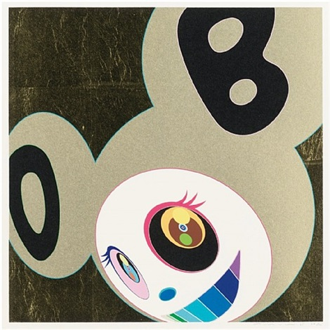 and then gold by takashi murakami