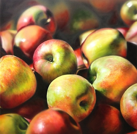 sunny apples by ben schonzeit