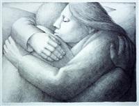 embrace ii by george tooker