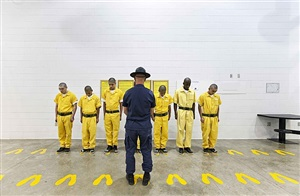 orientation training phase, youth offender system, pueblo, colorado, 1 by richard ross
