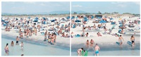 rosignano (diptych) by massimo vitali