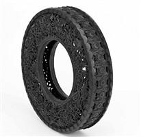 wim delvoye: untitled (car tyre)