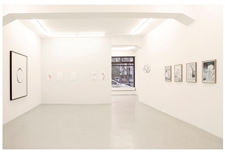installation shot of the exhibition 'variety 2: margins and circles', lullin + ferrari, zurich, 2013