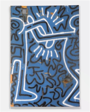 untitled authenticated by keith haring