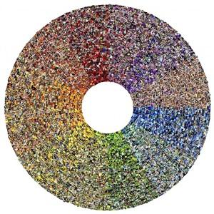 <color> wheel by jason salavon