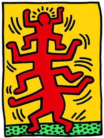 growing 1 by keith haring