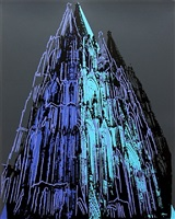 cologne cathedral by andy warhol