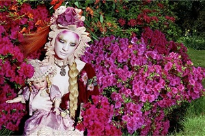 blooming #3 by miles aldridge