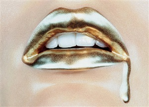 bold gold #2 by miles aldridge