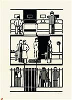 krankenhaus by gerd arntz