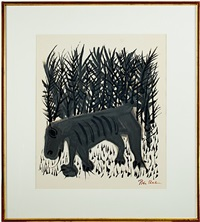 one must know the animals by ben shahn