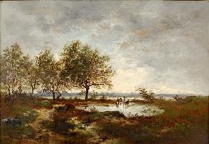 la mare by théodore rousseau