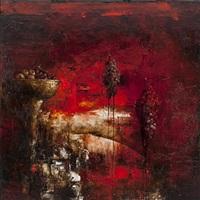 second red vanitas by kevin sonmor
