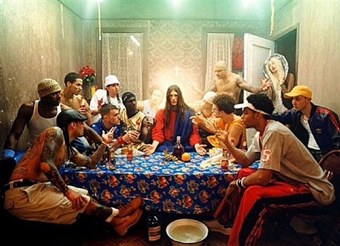 the last supper by david lachapelle
