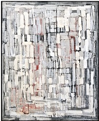 structure, white/grey/black/red by christian megert
