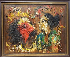 aku dan ibuku (i am and my mother) by affandi