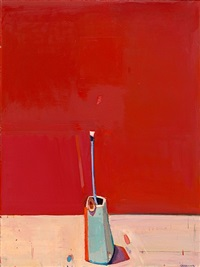 tall flower by raimonds staprans