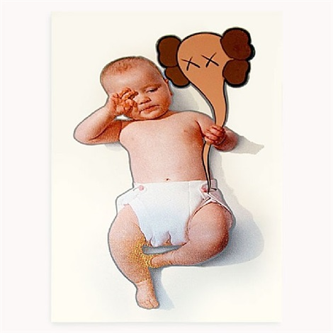 studio baby by kaws
